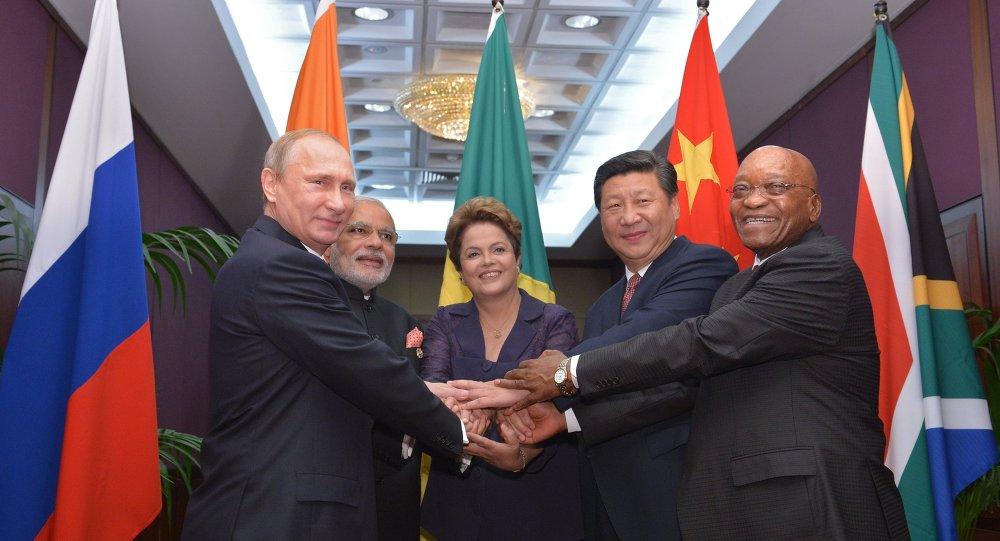 Les dirigeants du groupe BRICS