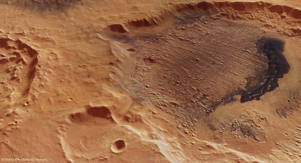 La surface de Mars