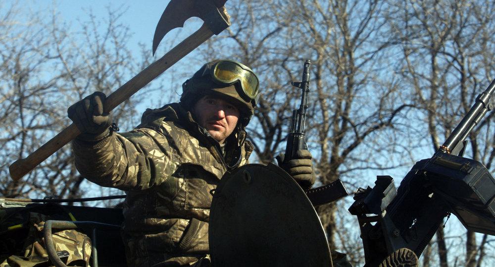 Un char ukrainien