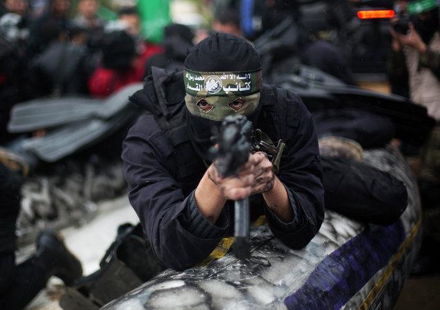 Un militant du Hamas