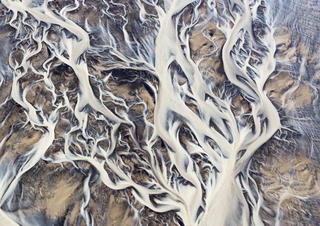 Les rivières du sud de l'Islande à 1.000 mètres d'altitude