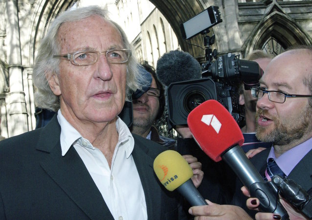 John Pilger. Archive photo