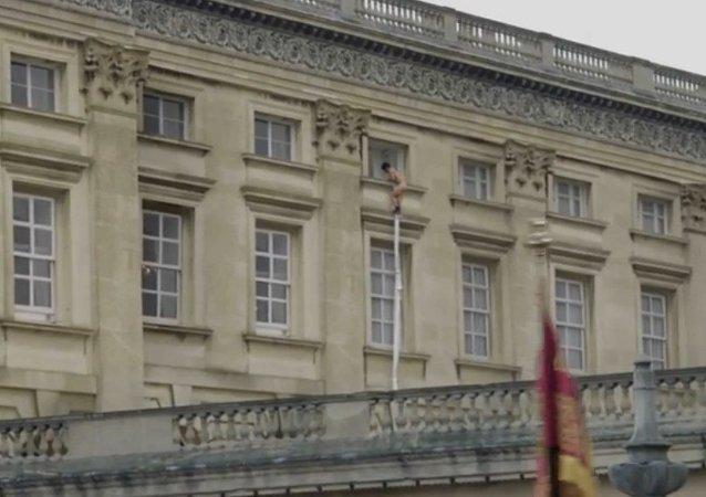 Londres: un homme nu s'évade du palais de Buckingham