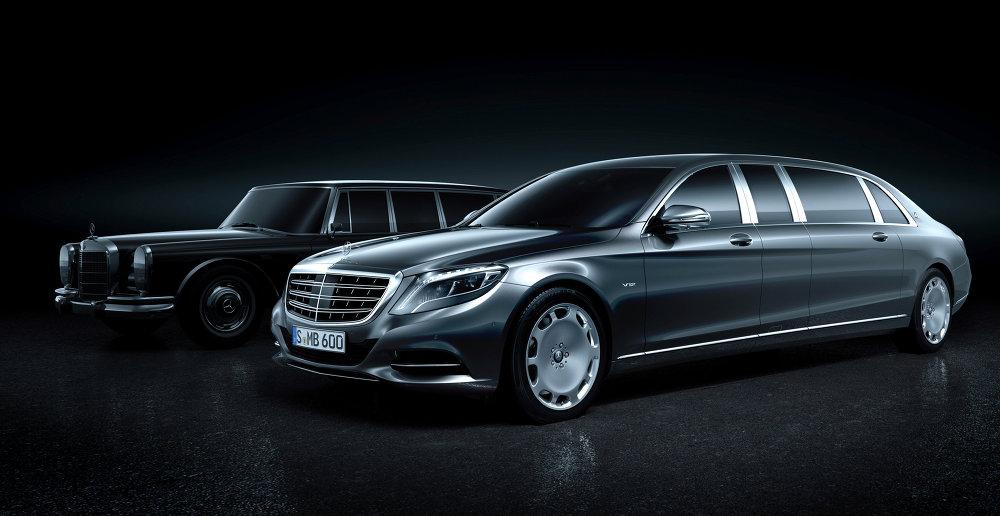 Mercedes-Maybach Pullman , le paquebot de luxe allemand