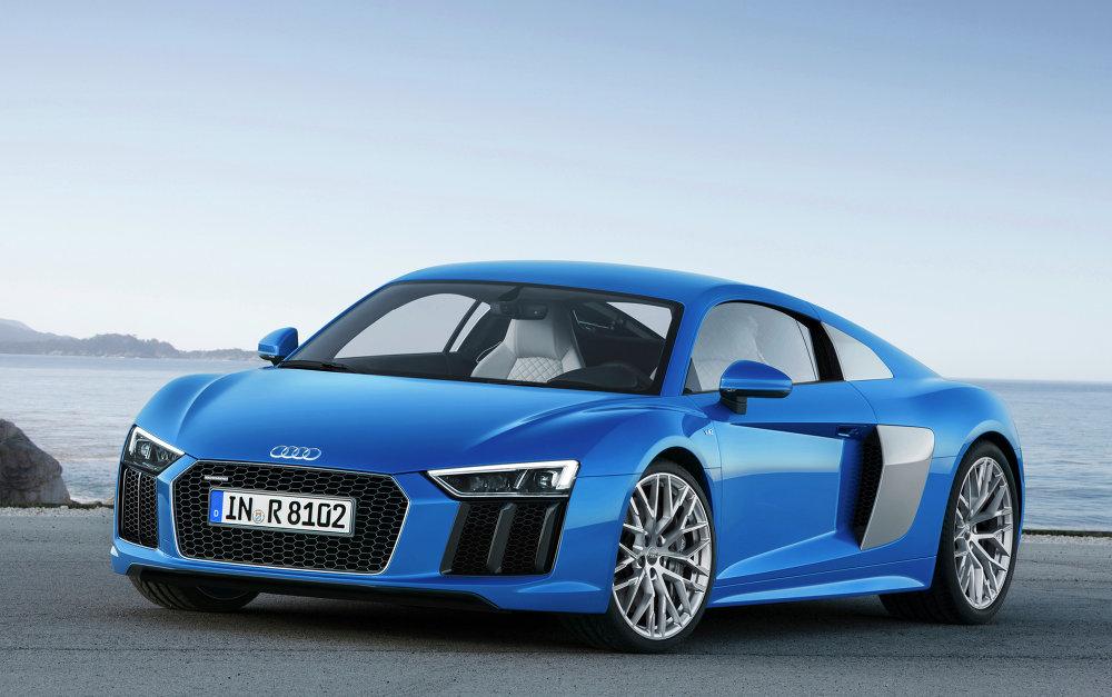 La toute nouvelle Audi R8 V10