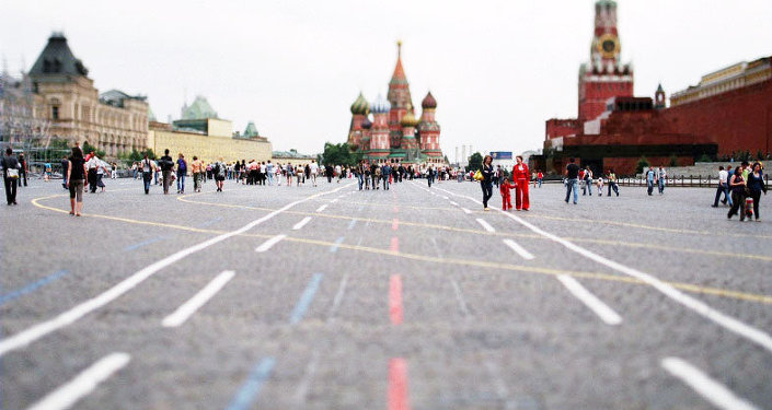 Moscou, Place Rouge