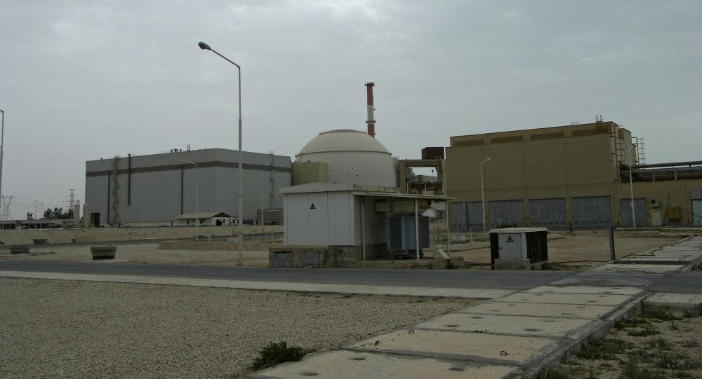 La centrale nucléaire à Bouchere