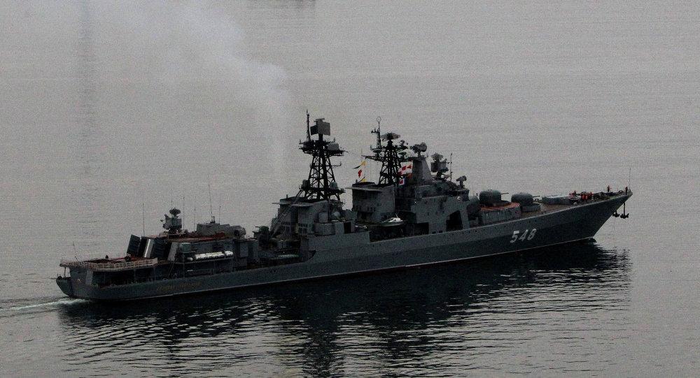 Les navires de la flotte russe sont sortis pour les exercices navals. Archive photo