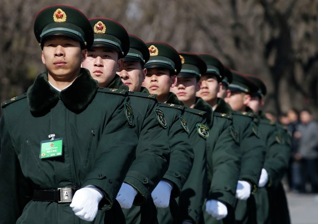 soldats chinois