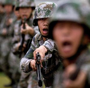 Des conscrits de l'Armée populaire de libération chinoise