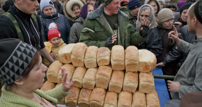 Chornukhyne, Ukraine, le 2 mars 2015
