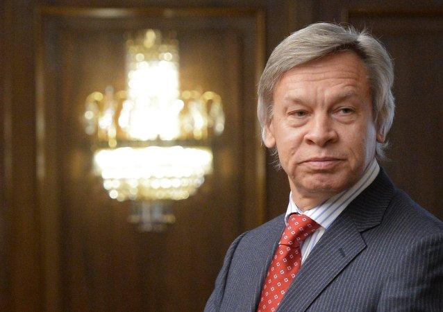 Le président de la commission des Affaires internationales de la Douma Alexeï Pouchkov