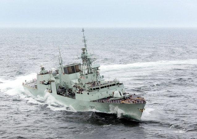 Frégate canadienne NCSM Fredericton