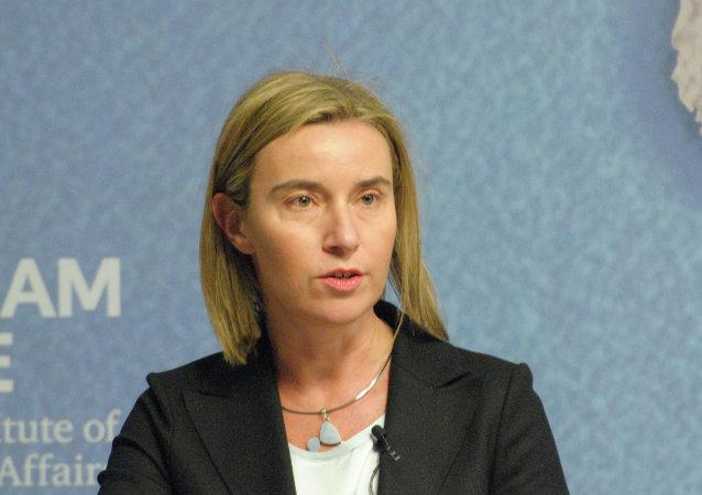Federica Mogherini, Haut Représentant de l'UE pour les Affaires étrangères et la Politique de sécurité