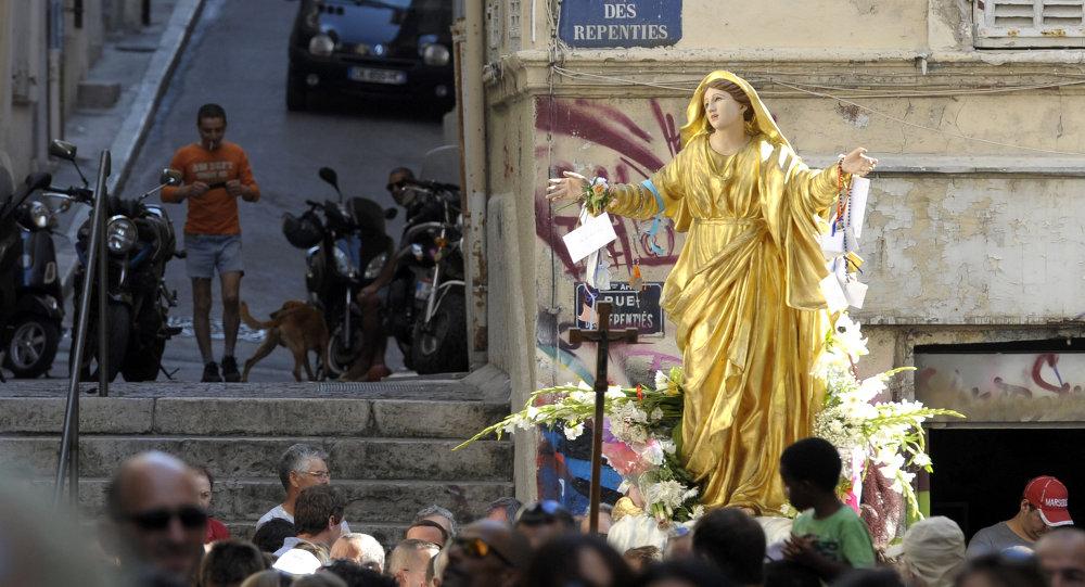 Une Vierge Marie
