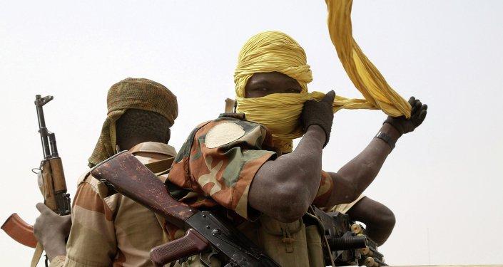 Des soldats tchadiens