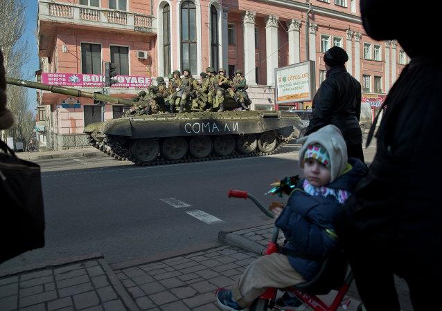 Le Donbass pendant la trêve