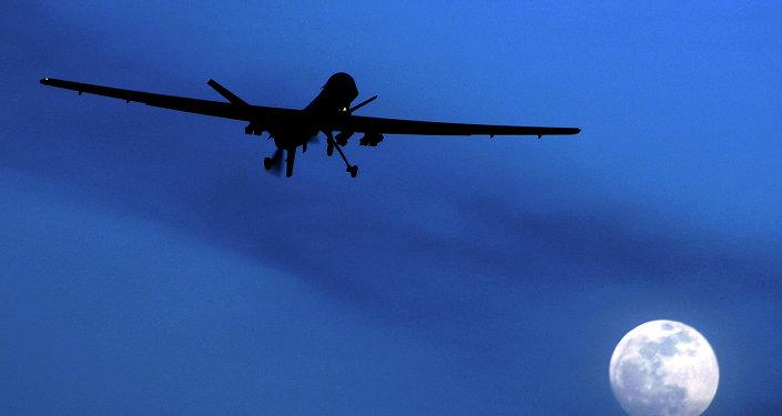 Le drone. Image d'illustration
