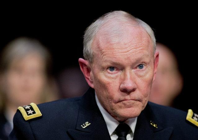 Le général Martin Dempsey, chef d'état-major des armées américaines