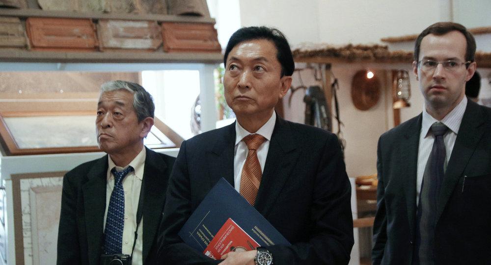 Yukio Hatoyama en Crimée