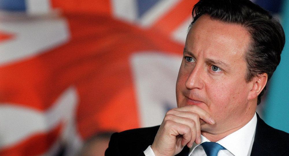 David Cameron, premier ministre de Royaume-Uni