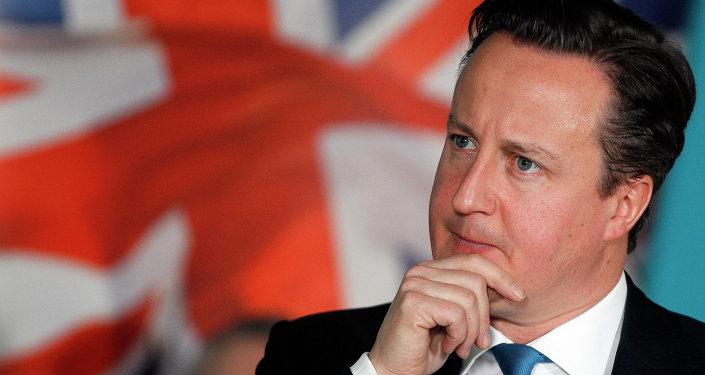 Premier ministre britannique David Cameron