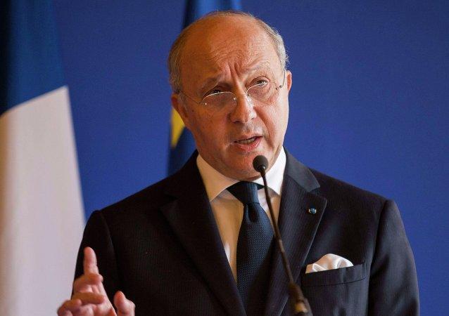 Laurent Fabius. Archive photo