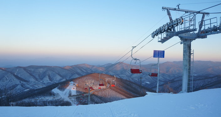 La première station de ski nord-coréenne, Masikryong