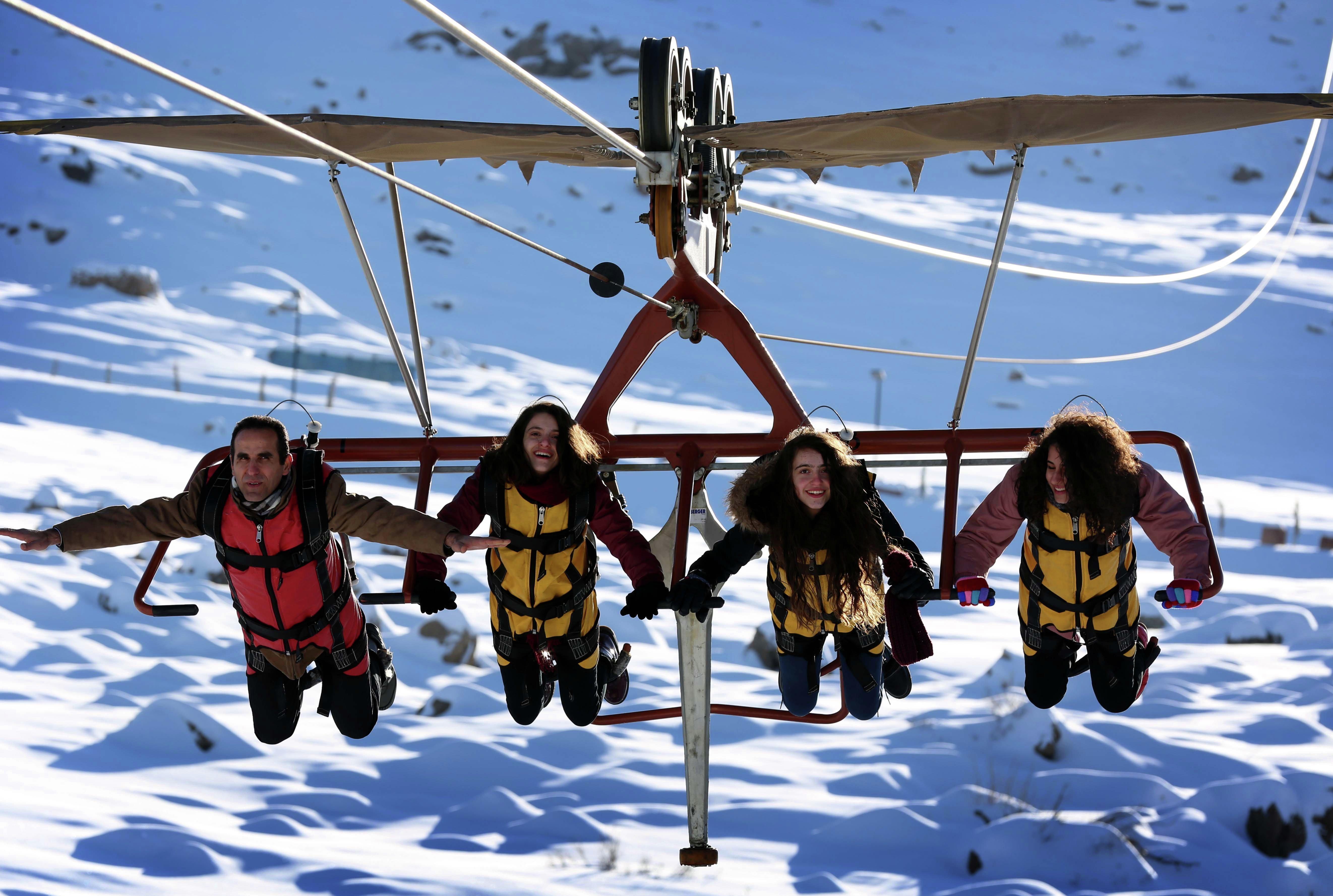 La station de ski sur le mont Korek