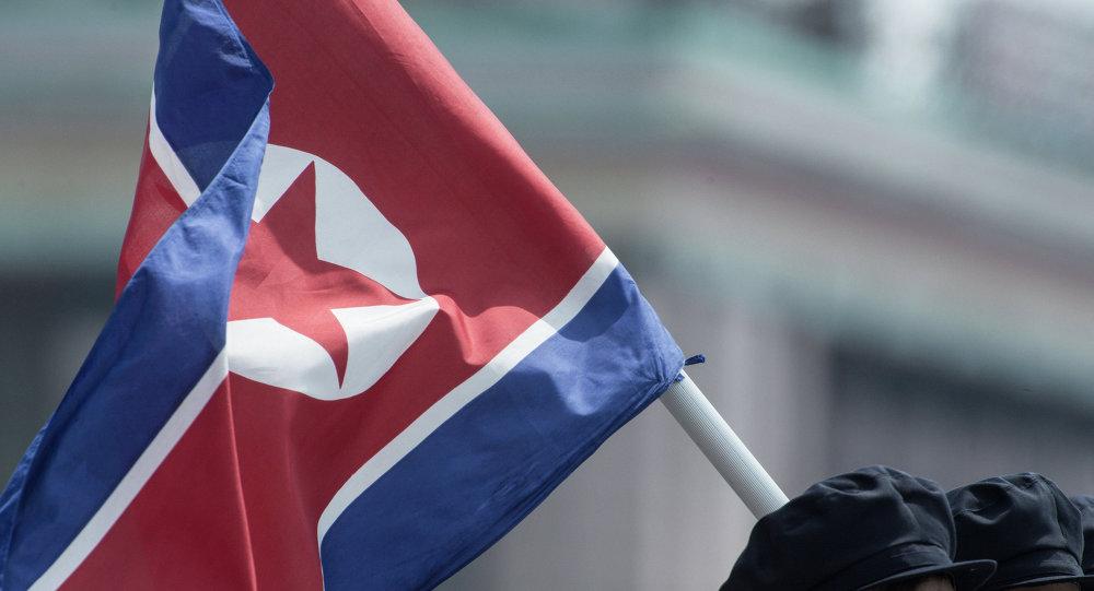Drapeau de la Corée du Nord
