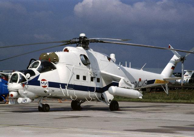 Hélicoptère de combat Mi-35
