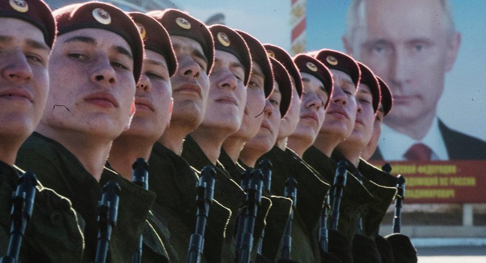 Répétition de la Parade de la Victoire