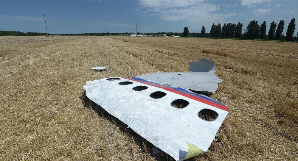 Un débris du Boeing 777 malaisien