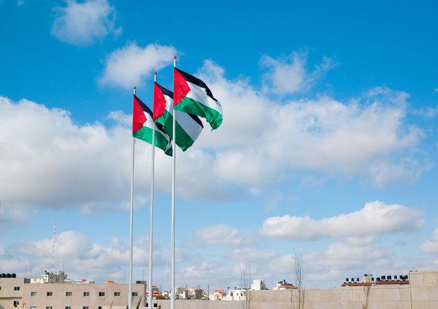 Drapeaux de la Palestine