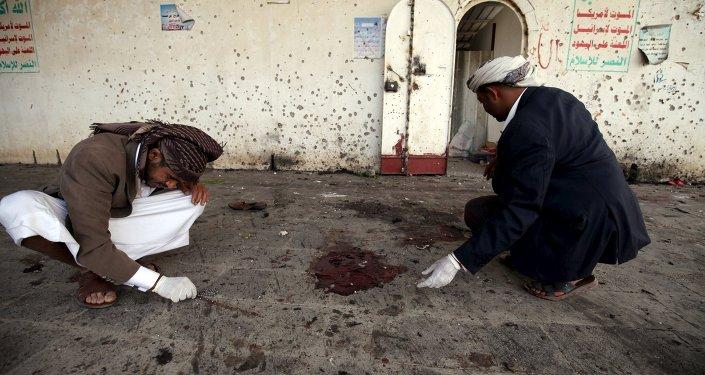 Après l'attentat à Sanaa