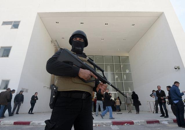 Membre des forces de sécurité tunisiennes