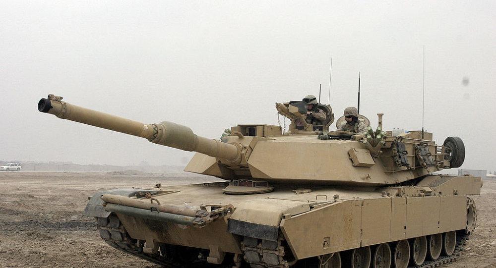 Le char US M1A1 Abrams (Archives)