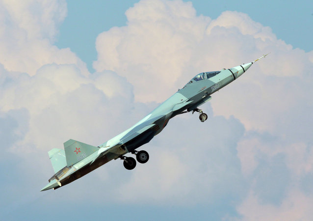 Самолет Т-50