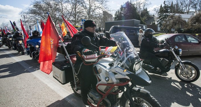 Le club de motards russes Loups de la nuit