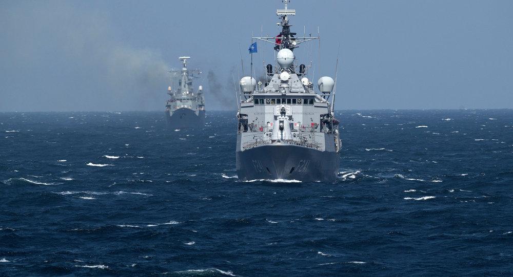 Un navire de l'Otan en mer Noire (archive photo)