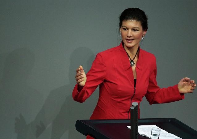 Sahra Wagenknecht, députée du Bundestag