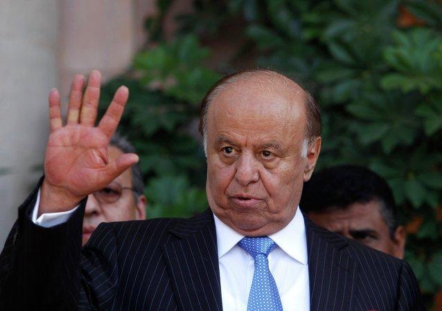 Le président du Yémen Abd Rabo Mansour Hadi