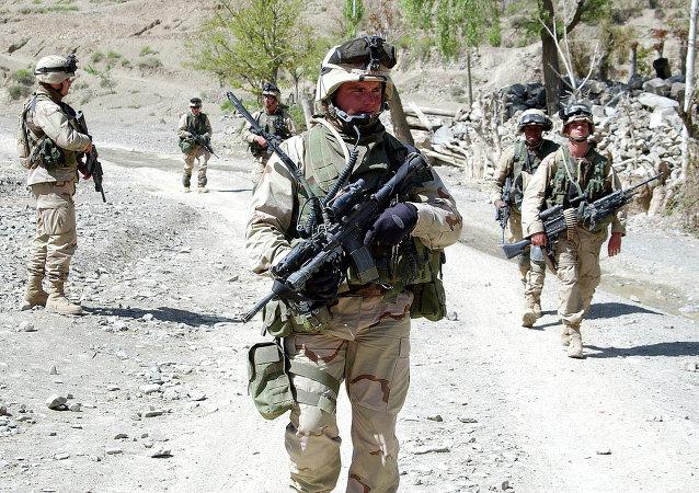 Soldats américains en Afghanistan