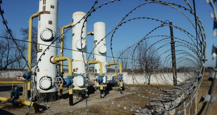 Station de distribution de gaz