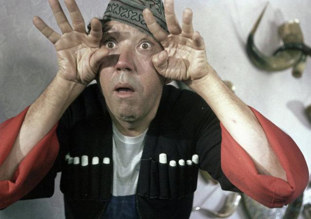 Image de la comédie soviétique Prisonnière du Caucase