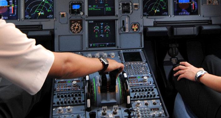 Le cockpit de l'avion Airbus A320 (Archives)