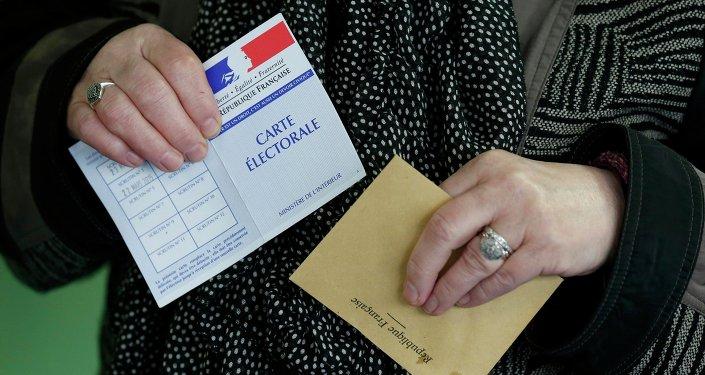 Lors des départementales en France