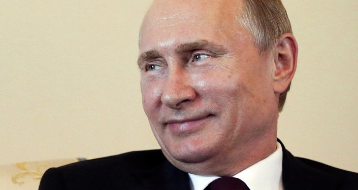 Président russe Vladimir Poutine