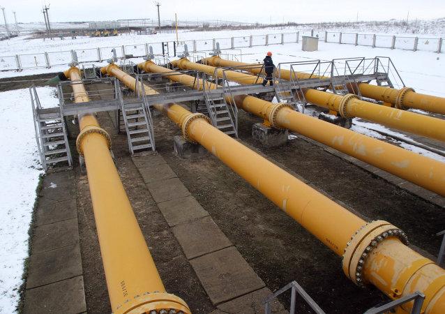 Gazoduc depuis la Russie