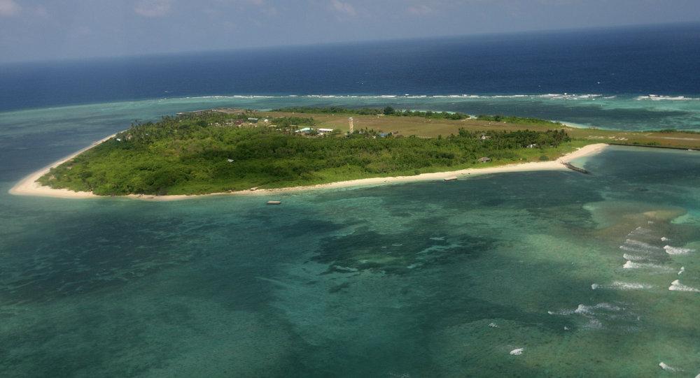 Îles Spratleys en mer de Chine méridionale